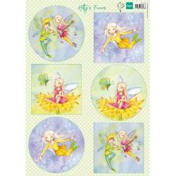 (HK1706)3D Hetty's Fairies