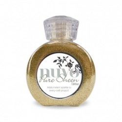 (707N)Tonic Studios Nuvo pure sheen glitter 100ml light gold