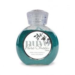 (712N)Tonic Studios Nuvo pure sheen glitter 100ml turquoise