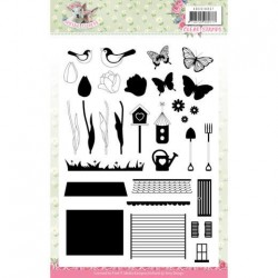 (ADCS10057)Clear Stamps - Amy Design - Spring is Here