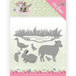 (ADD10167)Dies - Amy Design - Spring is Here - Spring Animals