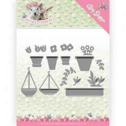 (ADD10169)Dies - Amy Design - Spring is Here - Flowerpots