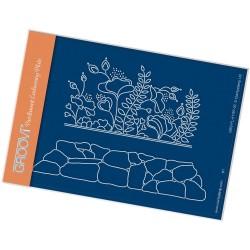 (GRO-FL-41197-02)Groovi® plate A6 LIZZY & ROCKERY