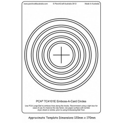 (PCA-TC4101E)Emboss-A-Card Circles