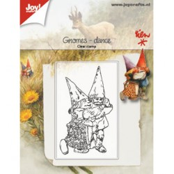 (6410/0510)Clear stamp Gnomes dance