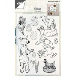 (6410/0481)Clear stamp Easter