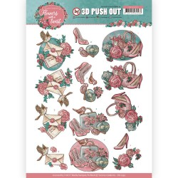(SB10339)3D Pushout - Yvonne Creations - Flowers with a Twist - Flowers with a Twist
