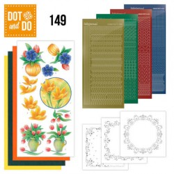 (DODO149)Dot and Do 149 Bouquet of flowers