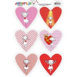 (SB10344)Pushout Topper - René Speelman - Jabbertje - Heart 4