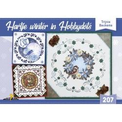(HD207)Hobbydols 207 - Hartje winter in Hobbydots - Trijnie Baukema