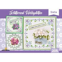 (HD205)Hobbydols 205 Schitterend Hobbydotten