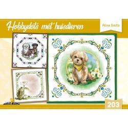 (HD203)Hobbydots met huisdieren