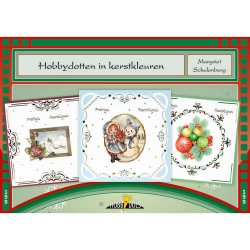 (HD199)Hobbydols 199 - Hobbydotten in kerstkleuren