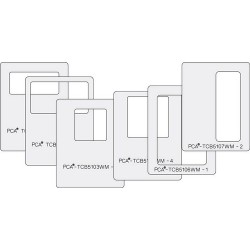 (PCA-TCB5100W)SMALL WINDOW MAKERS Set of 6 (Squares & Rectangles) - A