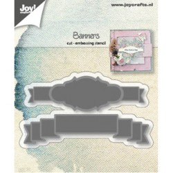 (6002/1221)Cutting & embossing dies banners