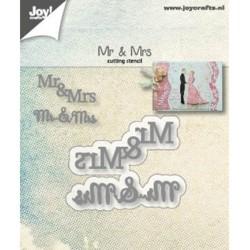 (6002/1265)Cutting dies Mr & Mrs
