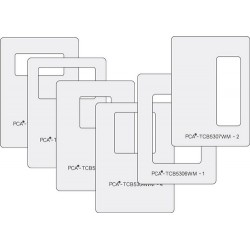 (PCA-TCB5300W)LARGE WINDOW MAKERS Set of 6 (Squares & Rectangles) - A