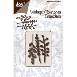 (6003/0091)Cutting Vintage Flourishes Branches