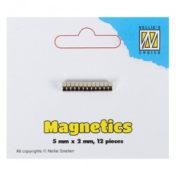 (STBM002)Nellie`s Choice 12 magnetics 5mm X 2mm