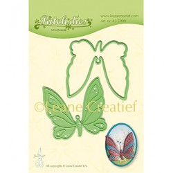 (45.5909)Lea'bilitie Cutting/Embossing Patch die Nested Butterfly