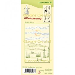 (55.5947)Clear Stamp Background Landscape