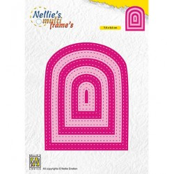 (MFD131)Nellie's Multi frame Dies Stiched Bows