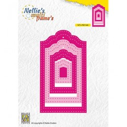 (MFD133)Nellie's Multi frame Dies Stiched Tags