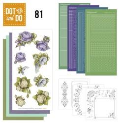 (DODO081)Dot and Do 81 - Floral Corner