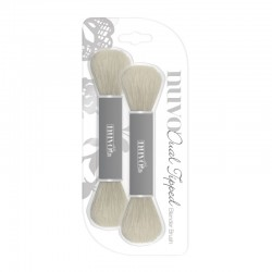 (984N)Tonic Studios Nuvo Dual Tipped Blender brushes 2 pcs