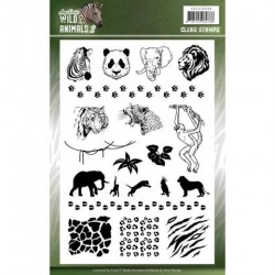 (ADCS10058)Clear Stamps - Amy Design - Wild Animals 4