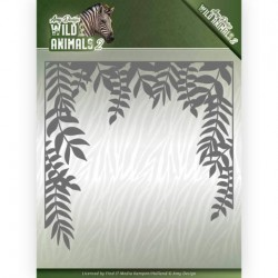 (ADD10172)Dies - Amy Design - Wild Animals 2 - Jungle Frame