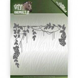 (ADD10173)Dies - Amy Design - Wild Animals 2 - Jungle Branch