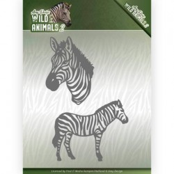 (ADD10178)Dies - Amy Design - Wild Animals 2 - Zebra