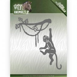 (ADD10179)Dies - Amy Design - Wild Animals 2 - Spider Monkey