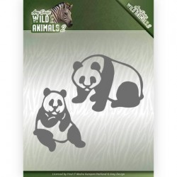 (ADD10180)Dies - Amy Design - Wild Animals 2 - Panda Bear