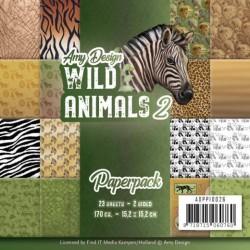 (ADPP10026)Paperpack - Amy Design - Wild Animals 4