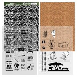 (ADMC1002)Sheets Zebra - Amy Design - Wild Animals 2