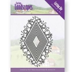 (JAD10066)Dies - Jeanine's Art - Spring Landscapes - Spring Diamond