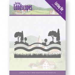 (JAD10070)Dies - Jeanine's Art - Spring Landscapes - Landscape Views