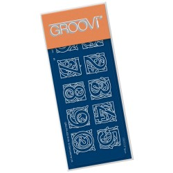 (GRO-WO-41051-22)Groovi® SPACER plate A6 CELTIC NUMBERS