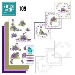 (STDO109)Stitch and Do 109 Summer Dahlia's