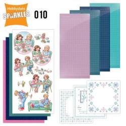 (SPDO010)Sparkles Set 10 - Me Time