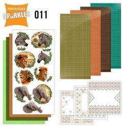 (SPDO011)Sparkles Set 11 - Africa