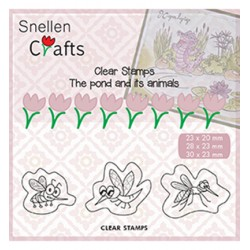 (CLP004)Snellen crafts Clearstamp - insects