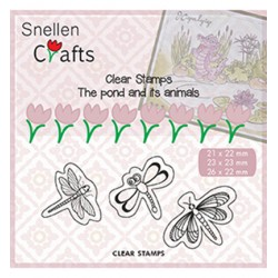 (CLP005)Snellen crafts Clearstamp - butterflies