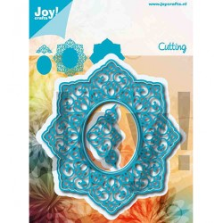 (6002/1256)Cutting dies Noor - Lovely Oval