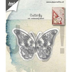 (6002/1287)Cutting & embossing dies butterfly
