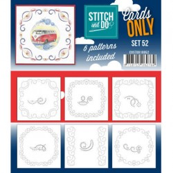 (COSTDO10052)Stitch & Do - Cards only - Set 52