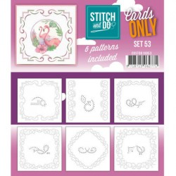 (COSTDO10053)Stitch & Do - Cards only - Set 53