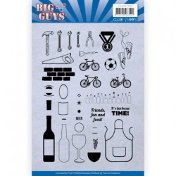 (YCCS10050)Clear Stamps - Yvonne Creations - Big Guys